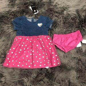 Guess | Girls Denim & Hearts Dress